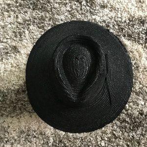 Brixton wide brim straw hat